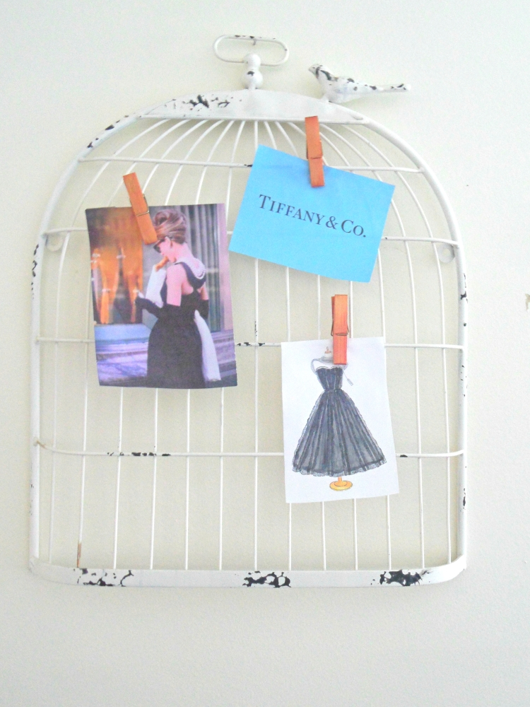 Easy DIY Memo Board Currently Lately Inspiration Birdcage Memo Board
