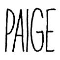 blog font name