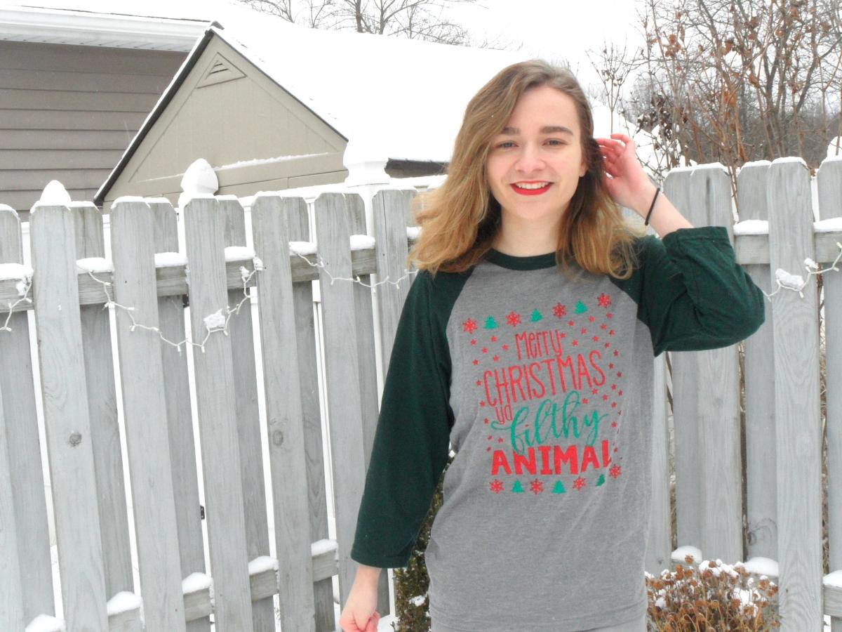 Merry Christmas Ya Filthy Animal OOTD