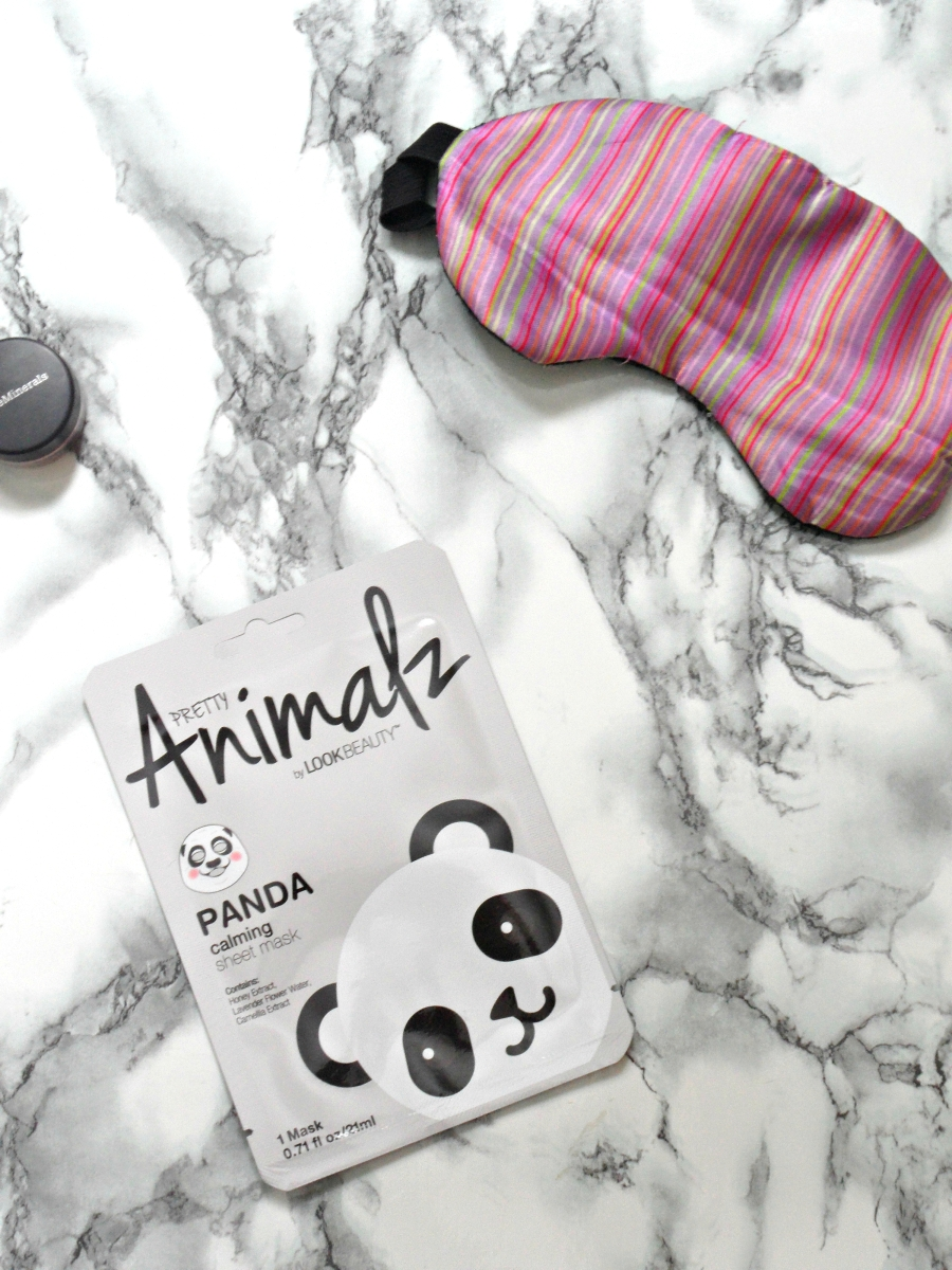 Look Beauty Pretty Animalz Panda Sheet Mask Review