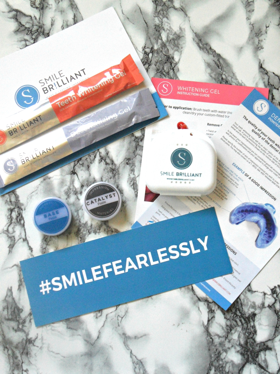 Smile Brilliant Teeth Whitening Review + Giveaway