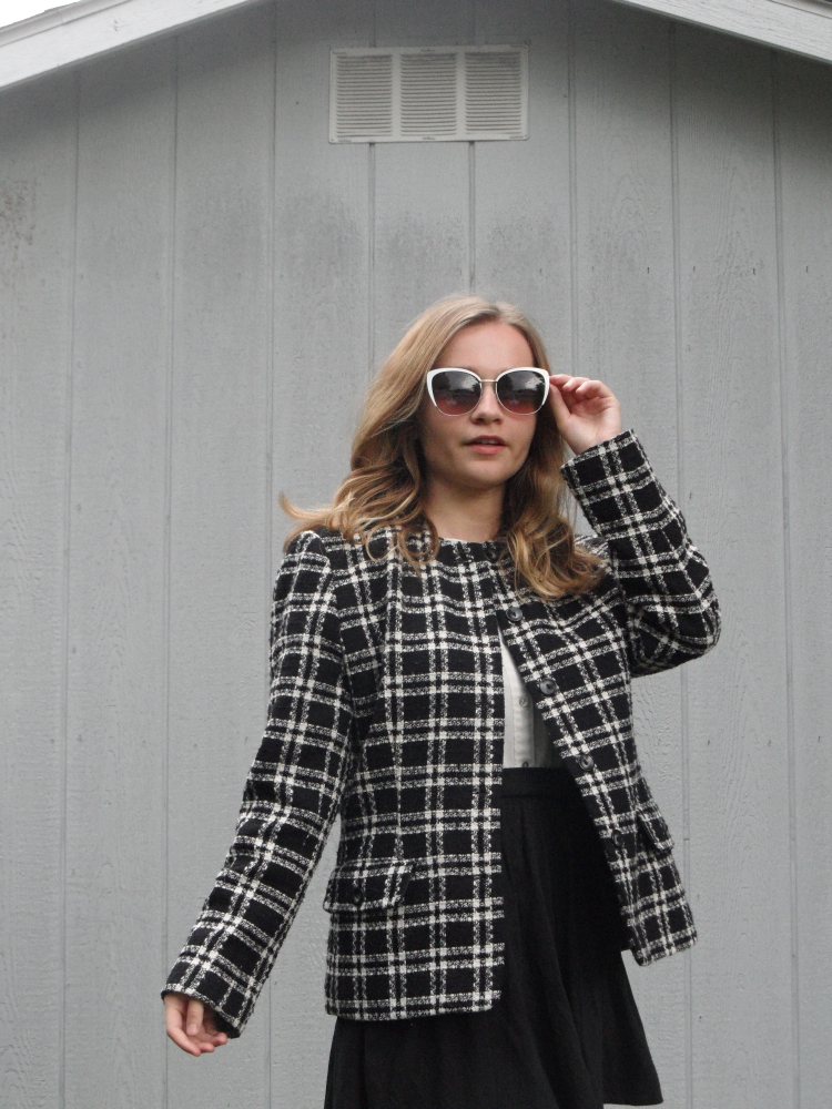 clueless plaid look